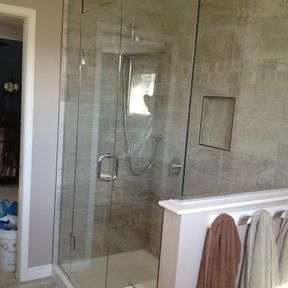 shower enclosure 72