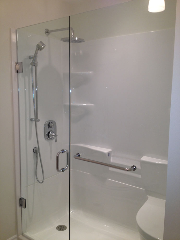 shower enclosure 145