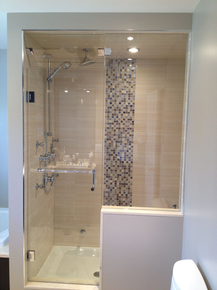 shower enclosure 104