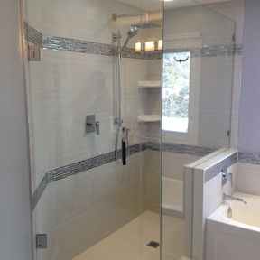 shower enclosure 130