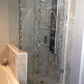 shower enclosure 57