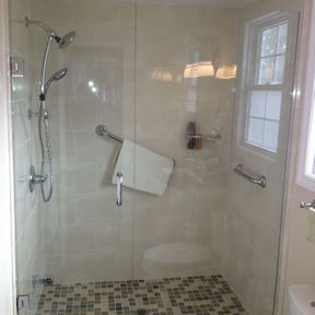 shower enclosure 86