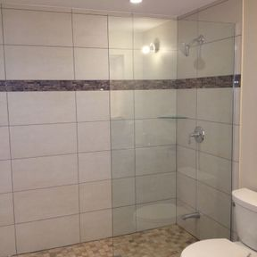 shower enclosure 114