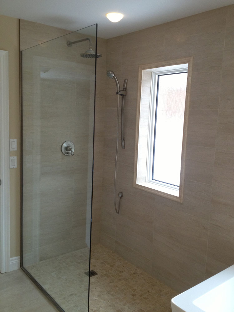 shower enclosure 115