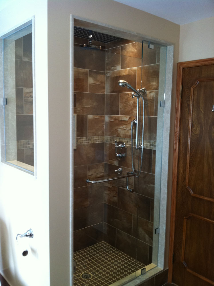 shower enclosure 117