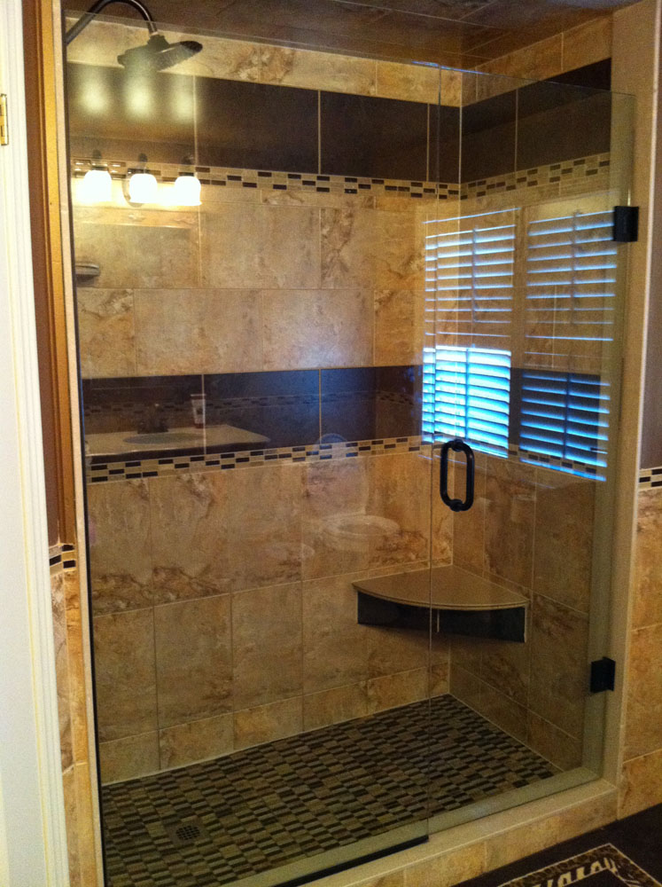 shower enclosure 155