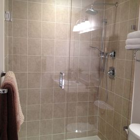 shower enclosure 76