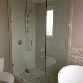 shower enclosure 107