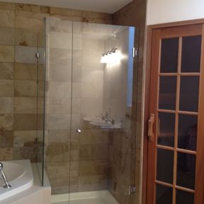 shower enclosure 121