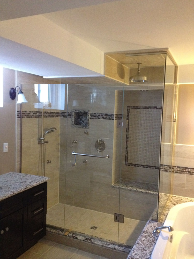 shower enclosure 102