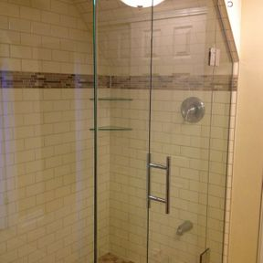 shower enclosure 122