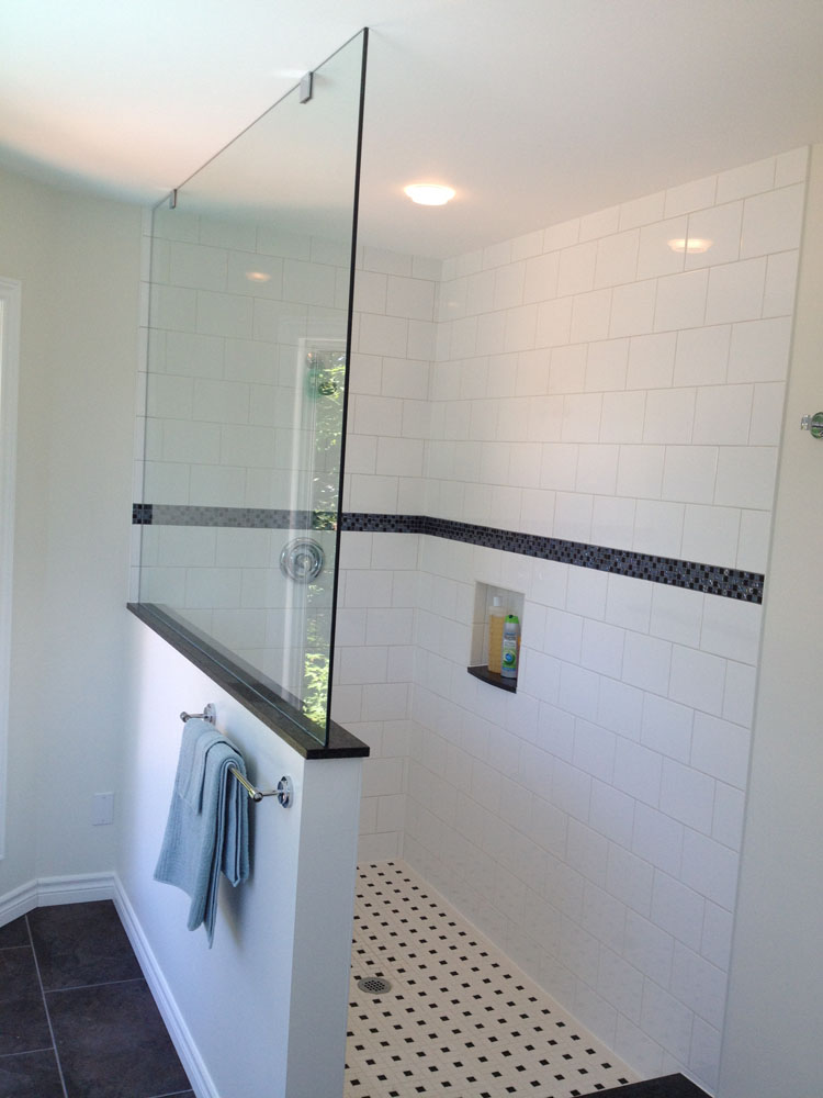 shower enclosure 105