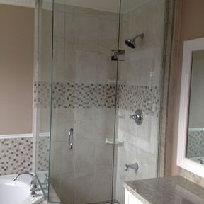shower enclosure 135