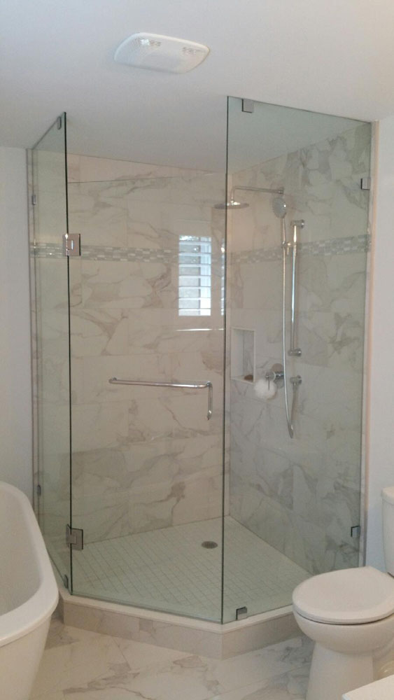 shower enclosure 154