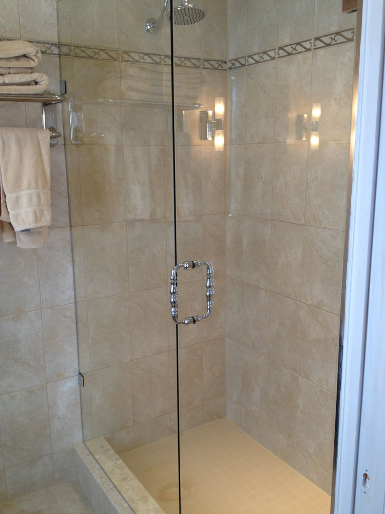 shower enclosure 132