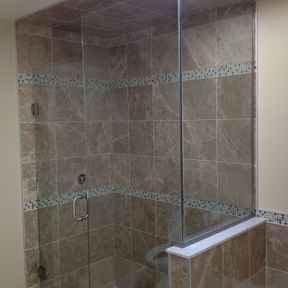 shower enclosure 112