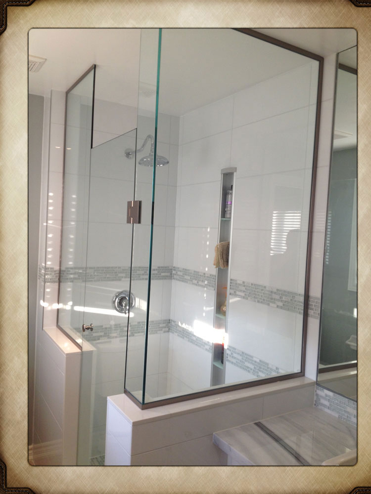 shower enclosure 124