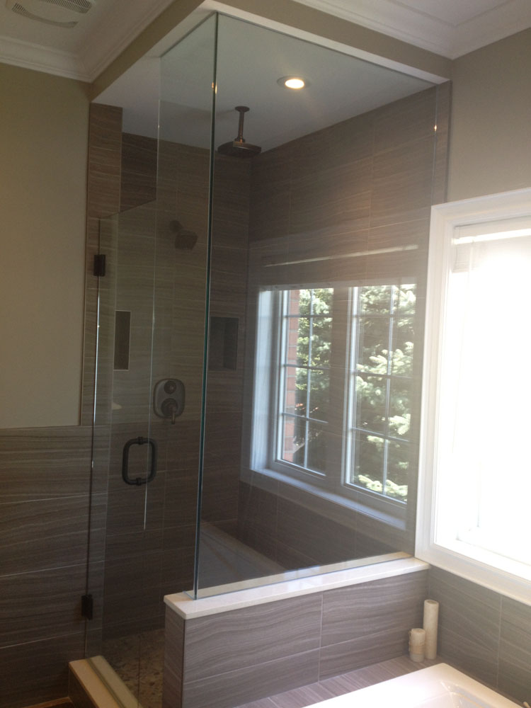 shower enclosure 110