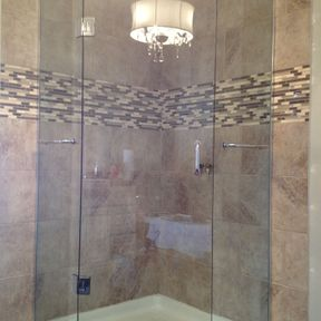 shower enclosure 56
