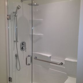shower enclosure 108