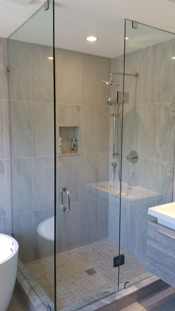 shower enclosure 136