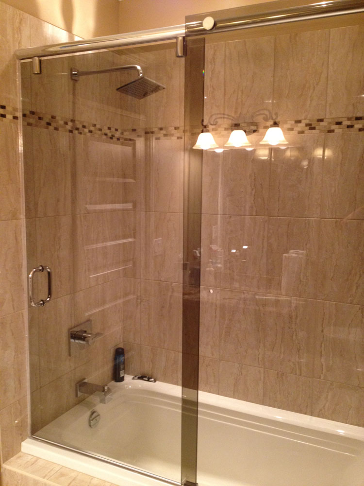 shower enclosure 118