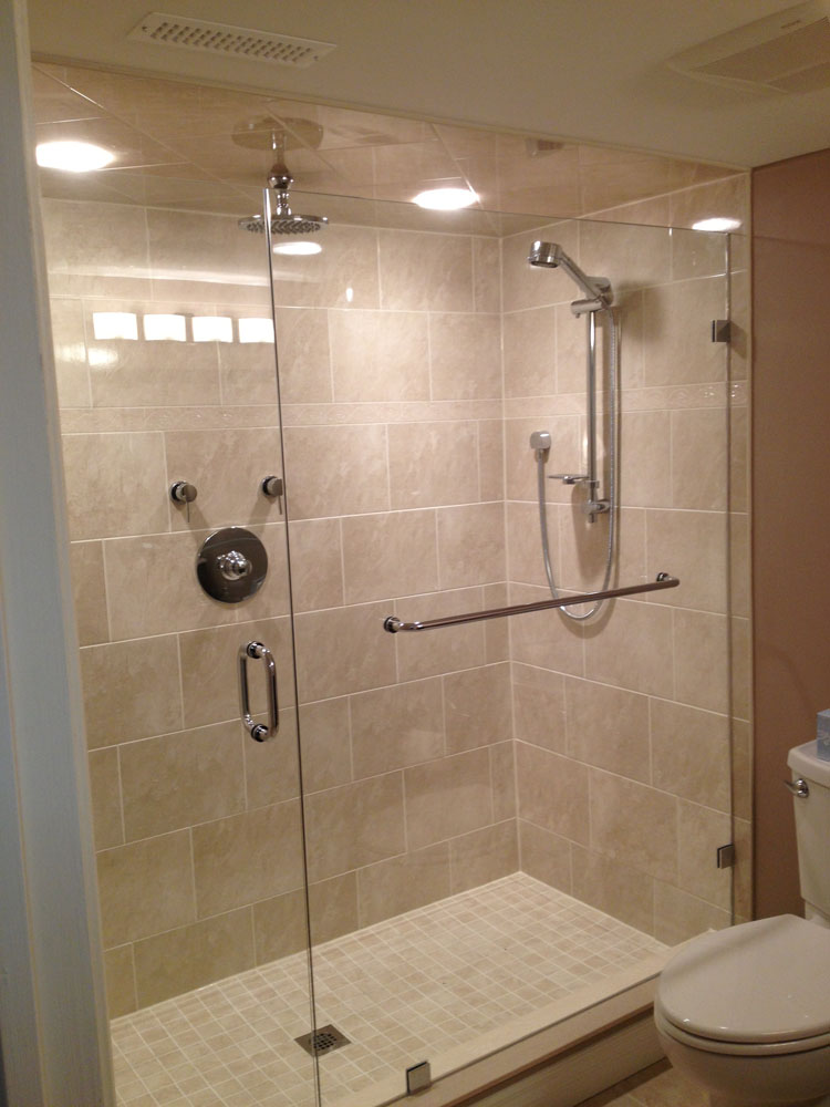 shower enclosure 126