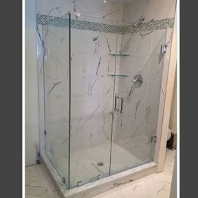 shower enclosure 100